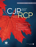 The Canadian Journal of Psychiatry cover